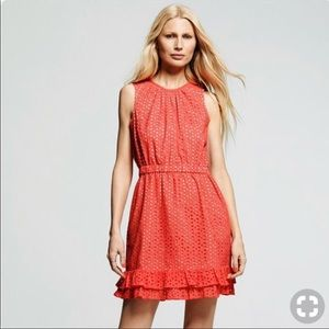 Peter Som eyelet dress excellent condition size 6